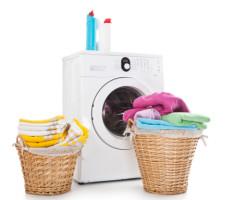 איך מנקים מכונת כביסה