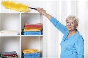 ניקיון בתים לקשישים