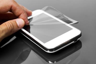 ניקוי מסך אייפון